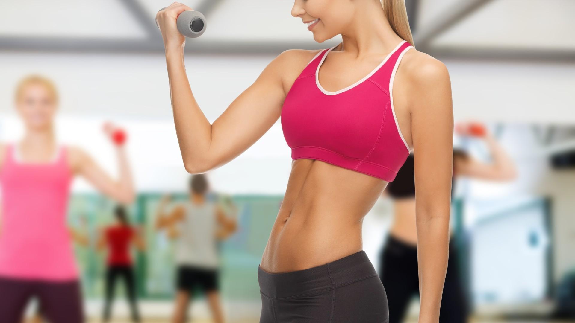 убрать жир с живота без физических упражнений