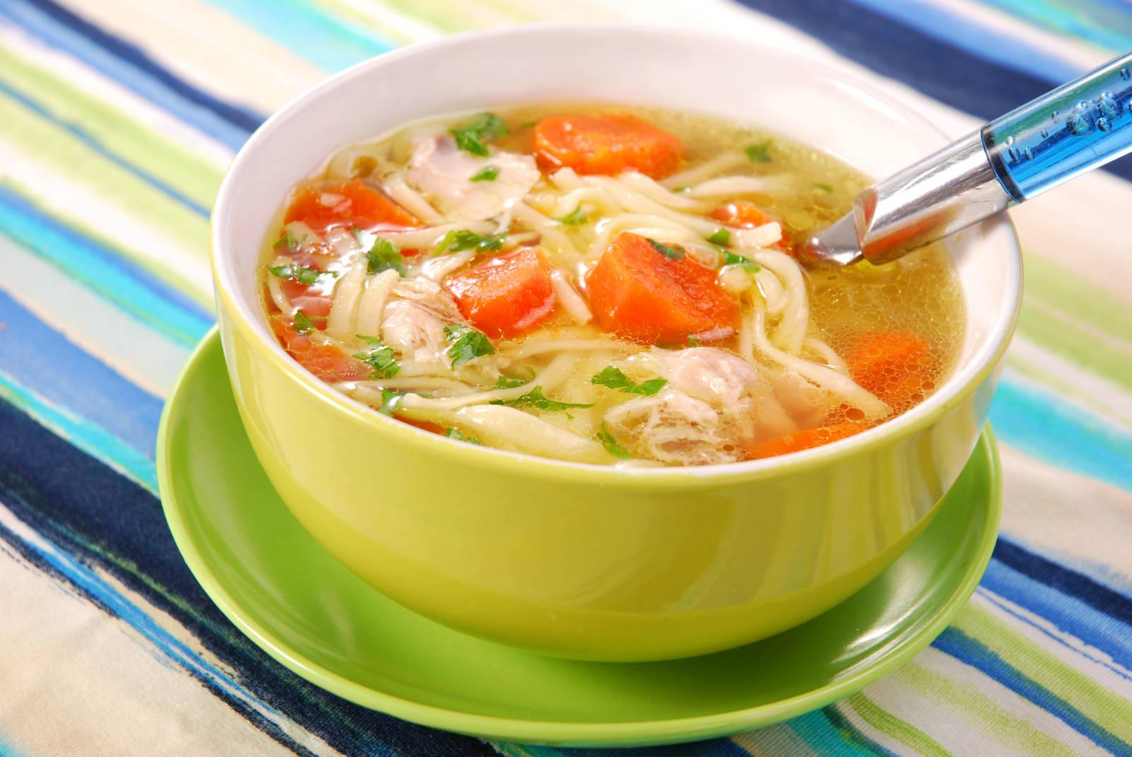 Сколько калорий в супе из куриной грудке
