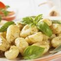 Gnocchi di patata with basilico and pesto