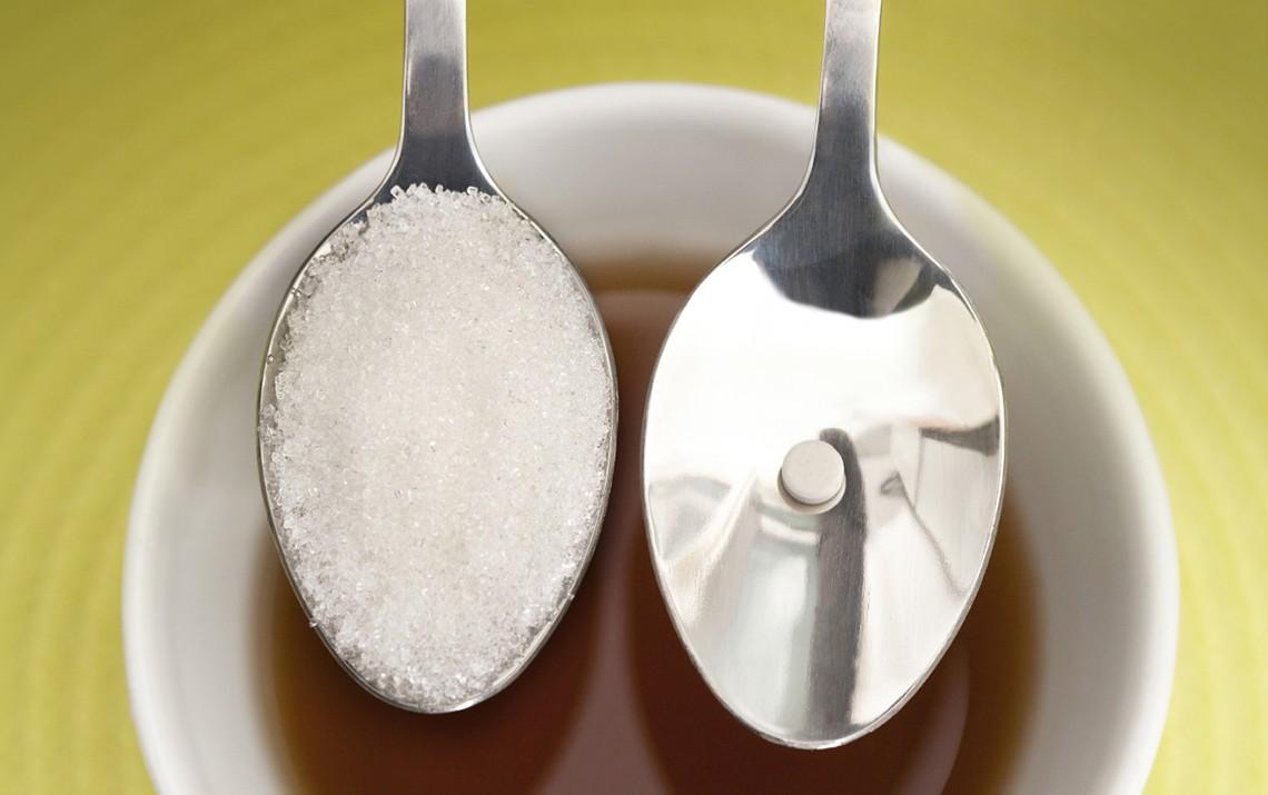 Сколько калорий в 1 чайной ложке сахара песка (с горкой и без)